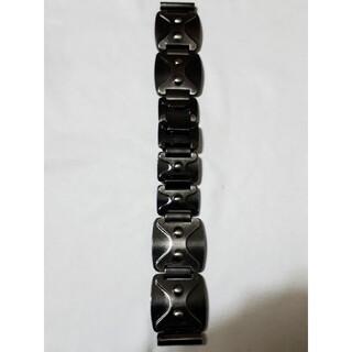 マルマン(Maruman)の商品NO.243ラグ幅17mm【新品・訳あり】マルマン♪ダークグレー色金属ベルト(金属ベルト)