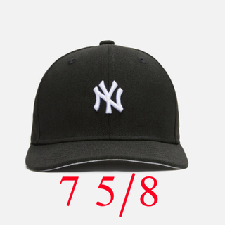 シュプリーム(Supreme)のKITH PEGASUS NEW ERA CAP 黒 7 5/8(キャップ)