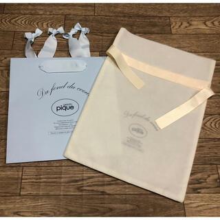 gelato pique - 【新品】 ジェラートピケ ラッピング用品 紙袋 ショップ袋 ショッパー 巾着袋