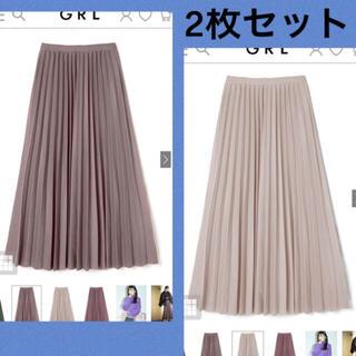GRL - プリーツスカート グレイル 2枚セット