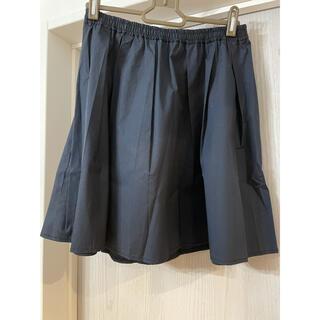 プラステ(PLST)のプラステ ブラックスカート Mサイズ(ひざ丈スカート)