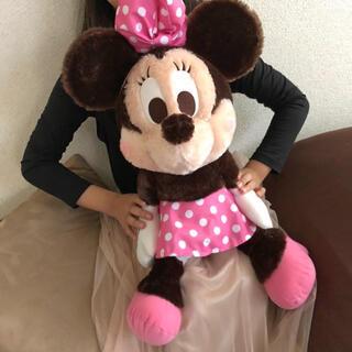 ディズニー(Disney)の新品!■ミニー  ギガジャンボぬいぐるみ ■ ディズニーランドレア!非売品(ぬいぐるみ/人形)