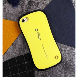 iFace iPhone5/5s/SE イエロー First Class アイフ(モバイルケース/カバー)