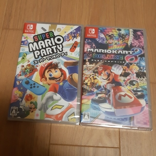 Nintendo Switch - 新品 スーパーマリオカート8DX スーパーマリオパーティー Switch セット