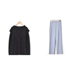 ダブルクローゼット(w closet)のw  closet ニット スラックスパンツ まとめ売り(ニット/セーター)