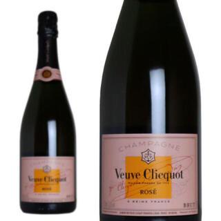 ドンペリニヨン(Dom Pérignon)のヴーヴクリコ ローズラベル 新品送料無料(シャンパン/スパークリングワイン)