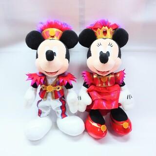 ディズニー(Disney)のディズニー ミニーオーミニー ミニオ ぬいぐるみバッジ ぬいば ミッキー ミニー(ぬいぐるみ)