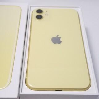iPhone - SIMフリー iPhone11 イエロー