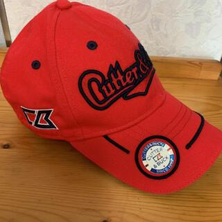 カッターアンドバック(CUTTER & BUCK)のカッターアンドバック ゴルフキャップ 帽子 キャップ 赤 レッド(キャップ)