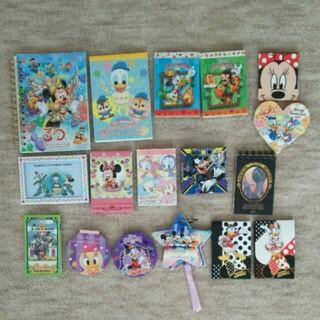 ディズニー(Disney)のディズニー メモ帳 ノート(キャラクターグッズ)