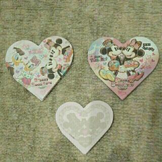 ディズニー(Disney)のディズニーリゾート バレンタイン バラメモ 30枚(キャラクターグッズ)