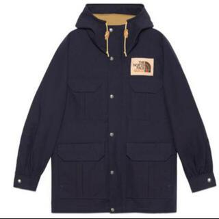 グッチ(Gucci)のGUCCI× THE NORTH FACE  jacket navy Lsize(マウンテンパーカー)