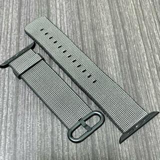 アップルウォッチ(Apple Watch)の【純正美品】Apple Watch ウーブンナイロン 38/40mm(その他)