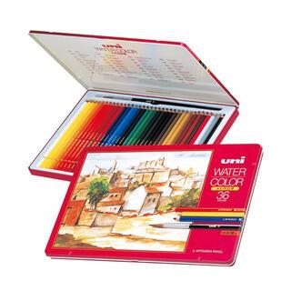 ミツビシエンピツ(三菱鉛筆)の三菱鉛筆 水彩色鉛 36色セット UWC36C(色鉛筆)