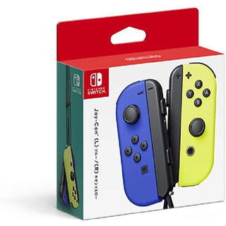 ニンテンドースイッチ(Nintendo Switch)のJoy-Con(L) ブルー/(R) ネオンイエロー(家庭用ゲーム機本体)