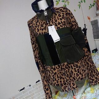 sacai - sacai サカイ 新品 メンズ ロゴ レオパード ブルゾン ¥95700
