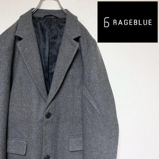 レイジブルー(RAGEBLUE)のレイジブルー ウールチェスターコート ジャケット ロングコート(チェスターコート)