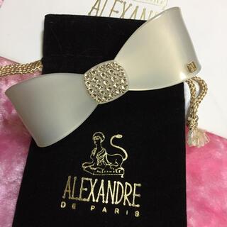 Alexandre de Paris - 未使用 アレクサンドル ドゥ パリ クリップ ショップ袋 巾着付き