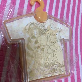クマノプーサン(くまのプーさん)のTシャツ型メモ 1個 プーさん&フレンズ(ノート/メモ帳/ふせん)
