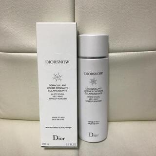 クリスチャンディオール(Christian Dior)のDior♥スノー メイクアップ リムーバー(クレンジング/メイク落とし)