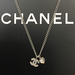 new styles 9eaa3 35979 CHANEL♡ココ&ハートネックレス