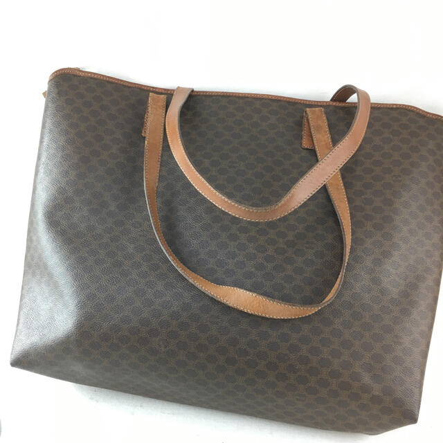 celine(セリーヌ)のCELINE セリーヌ マカダム トートバッグ オールドセリーヌ レディース レディースのバッグ(トートバッグ)の商品写真