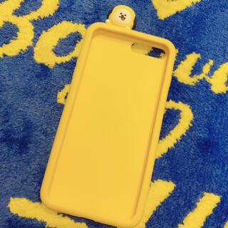 ボウダンショウネンダン(防弾少年団(BTS))のBT21 チミー iPhone8plusケース シリコン(iPhoneケース)