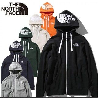 THE NORTH FACE - ♡【美品】THE NORTH FACE フードロゴパーカー ブラック 裏起毛 S