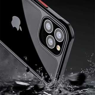 iPhone12 12pro ケース 耐衝撃 クリア 全4色 スマホ(iPhoneケース)