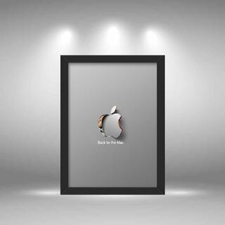 0576 オマージュ パロディ インテリア アート ポスター(絵画/タペストリー)