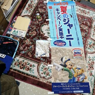 ミッキーマウス Duffy ENEOS 幟 TOKYO disney SEA(キャラクターグッズ)