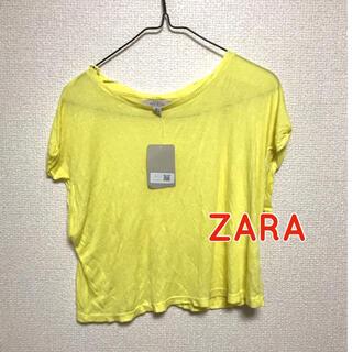 ザラ(ZARA)の半袖 カットソー Tシャツ ザラ 新品(Tシャツ(半袖/袖なし))