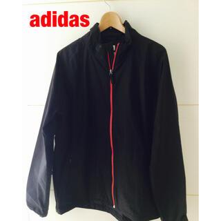 アディダス(adidas)の美品☆adidas メンズ Clima Proof レインジャケット(ナイロンジャケット)