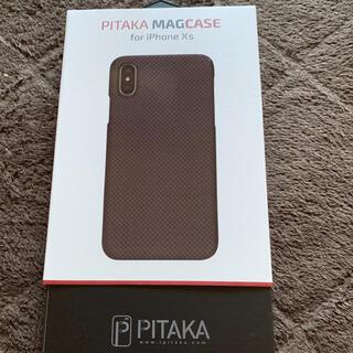 アップル(Apple)のPITAKA iPhone XS【美品.最終価格】(iPhoneケース)