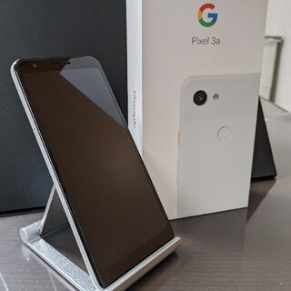 Google - Google Pixel 3a Clearly White SIMロック解除済