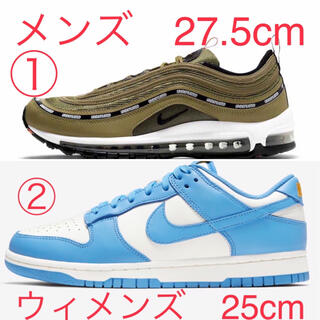 NIKE - NIKE DUNK LOW COAST and AIR MAX 97 OLIVE