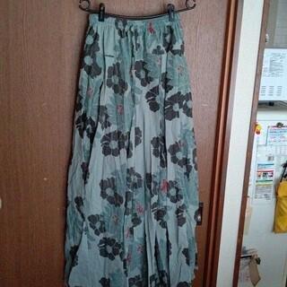 ロングスカート フリーサイズ(ロングスカート)