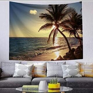 タペストリー 壁掛け インテリア ハワイ ヤシの木 *家の中でリゾート気分♪*