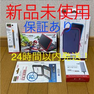 ニンテンドー2DS(ニンテンドー2DS)の☆新品未使用 任天堂 New ニンテンドー 2DS LL マリオカート7 セット(携帯用ゲーム機本体)