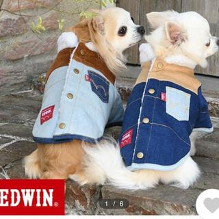 エドウィン(EDWIN)の☆EDWIN 犬服 ボアジャケット 未使用♪ サイズ XS☆(犬)
