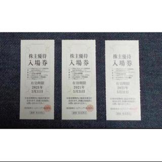 panpan様追加分 六甲山スノーパーク 3枚 入場券(スキー場)