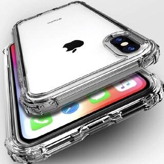 即日発送 大人気iPhoneXRケース クリア 強化TPU(iPhoneケース)