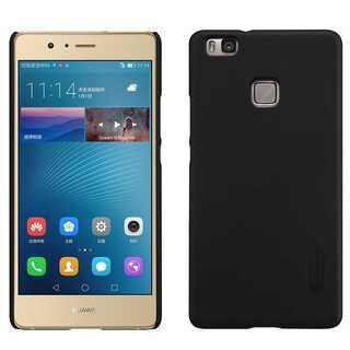 【ZN3】NILLKIN Huawei P9 Lite 専用ケース  (黒)(Androidケース)