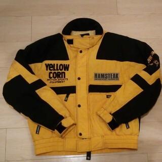 イエローコーン(YeLLOW CORN)のイエローコーンyellow corn 中綿入りジャケット サイズL(ライダースジャケット)