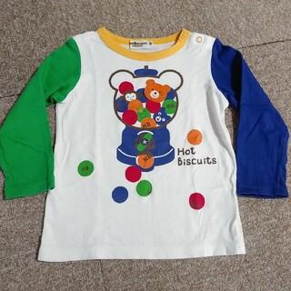 ホットビスケッツ(HOT BISCUITS)のミキハウス ホットビ ガチャガチャ カプセル 長袖 ロンT 90(Tシャツ/カットソー)
