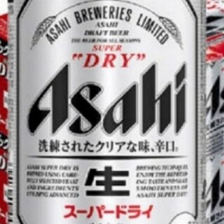 アサヒ(アサヒ)のアサヒスーパードライ500ミリ×24本(ビール)