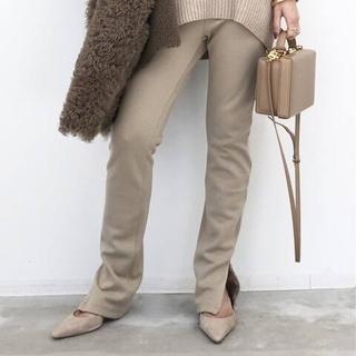 L'Appartement DEUXIEME CLASSE - L'Appartementアパルトモン Wool Zip Leggings
