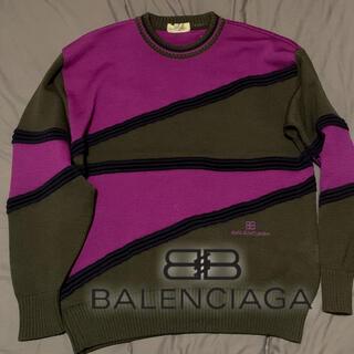 Balenciaga - BALENCIAGA ビンテージ3Dニット ブランド 古着