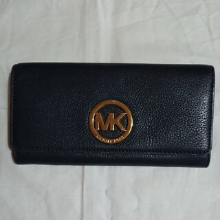 マイケルコース(Michael Kors)のMICHAEL KORS エンブレム長財布(財布)