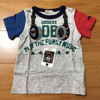 DOUBLE.B - ミキハウス ダブルビー ヘッドホン Tシャツ 半袖 100